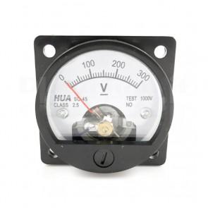 Voltometro Analogico da Pannello 0-300V CC