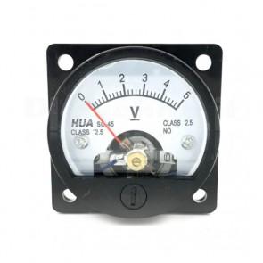 Voltometro Analogico da Pannello 0-5V CC