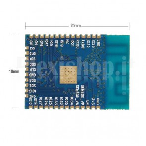 Chip Wi-Fi + Bluetooth ESP8266 ESP-32S