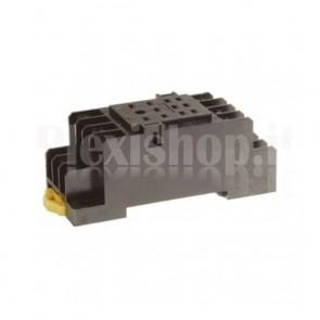 Zoccolo DIN PYF11A compatibile con relay industriali HH53P
