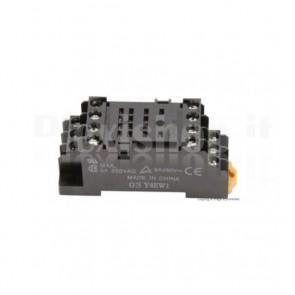 Zoccolo DIN PYF14A compatibile con relay industriali HH54P