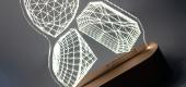 Lampade 3D a Led