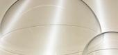 Cupole in trasparenti in plexiglass
