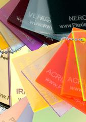 Mazzette colore plexiglass