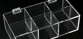 Scatolette trasparenti in plexiglass
