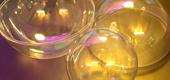 Sfere trasparenti apribili