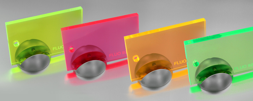 Fluorescent Plexiglass